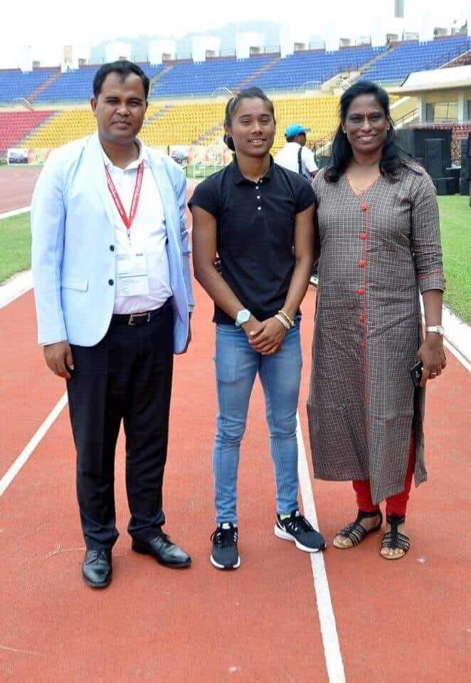 Hima Das Mother
