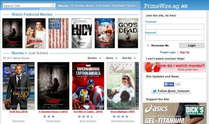 primewire watch shows online for free
