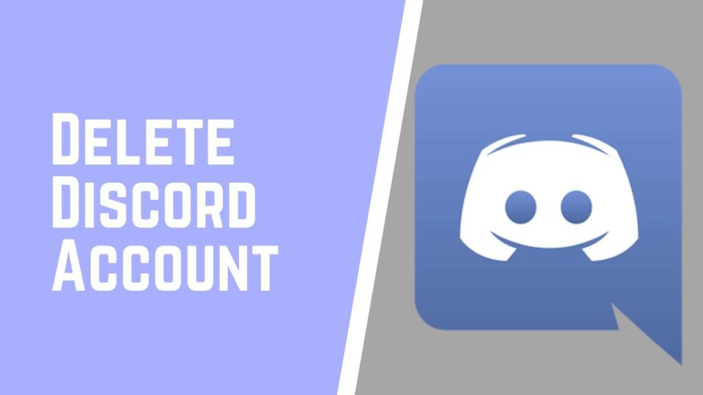 delete discord account