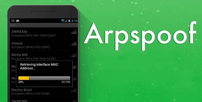 arpspoof app for android