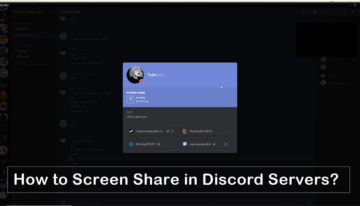 screen share in discord servers